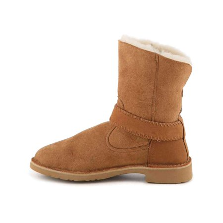 ce19ed764ed Ugg Australia Womens Cedric Leather Closed Toe Ankle Cold Weather Boots