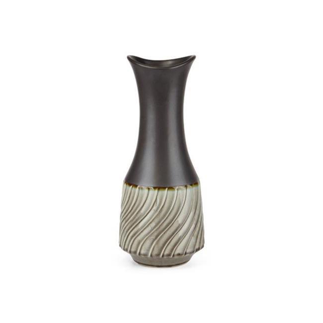 Imax 64365 Catalina Medium Vase, Gray - image 1 of 1