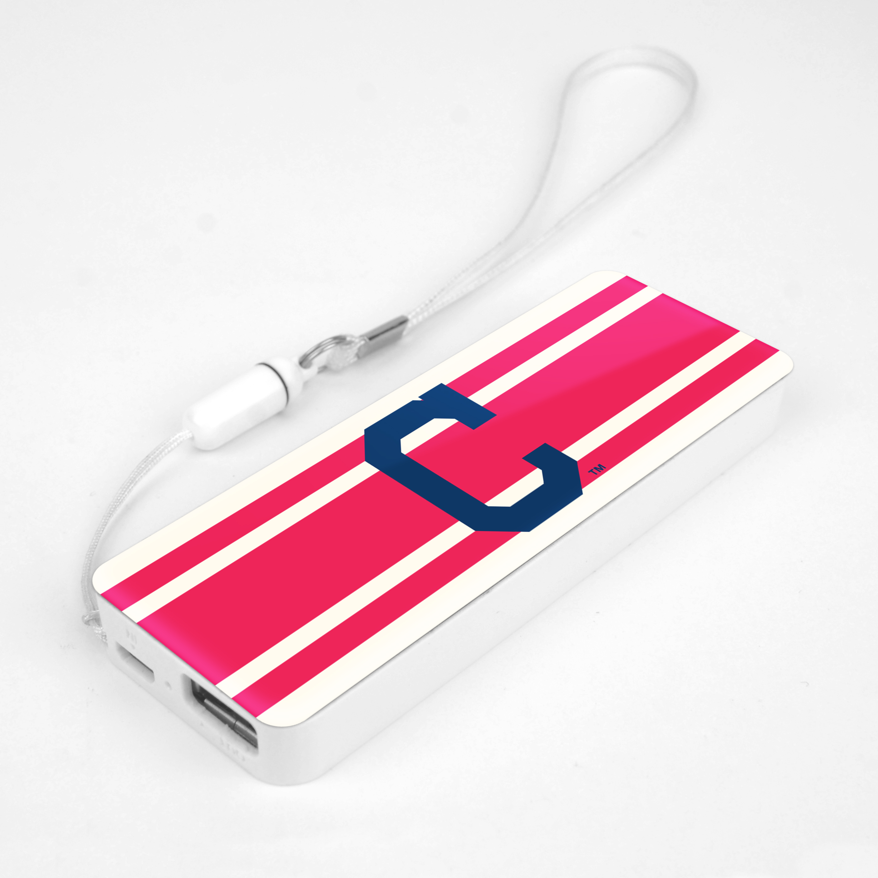 Cleveland Indians Powerbank - 3000 mAh by Mizco Sports