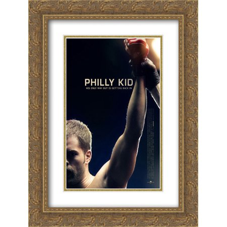 The Philly Kid 18x24 Double Matted Gold Ornate Framed Movie Poster Art Print (Phillies Matt)