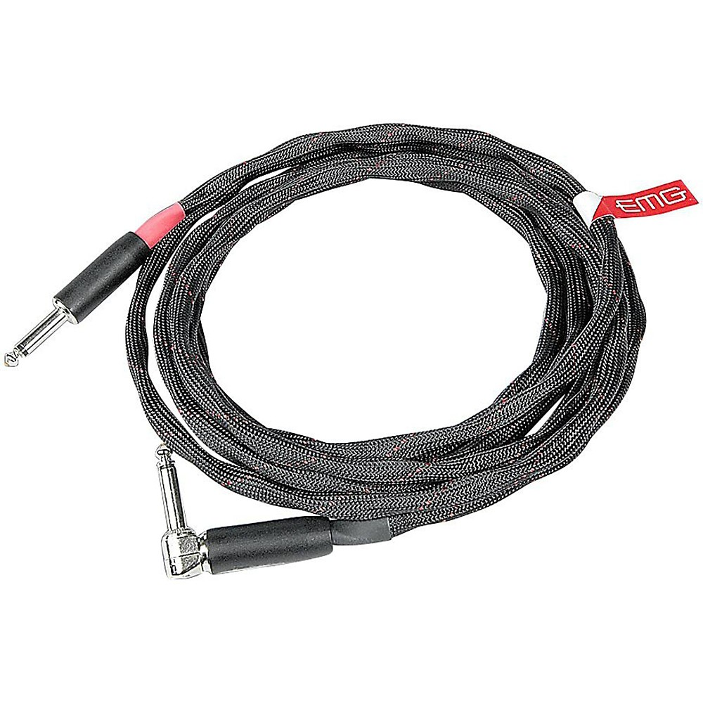 EMG VoVox Series One Cable Straight to Right Angle 22 ft.