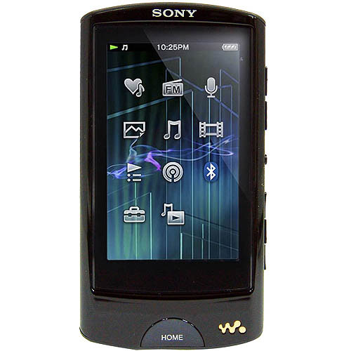 Sony NWZ-A864BLK 8GB MP3 Player with Bluetooth, Black