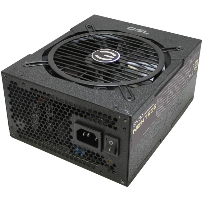 EVGA SuperNOVA 750 G1 Power Supply - 120 V AC, 230 V AC Input Voltage - 3.3 V DC, 5 V DC, 12 V DC, -12 V DC, 5 V DC Output Voltage - 1 Fans - Internal - Modular - ATI CrossFire Supported -