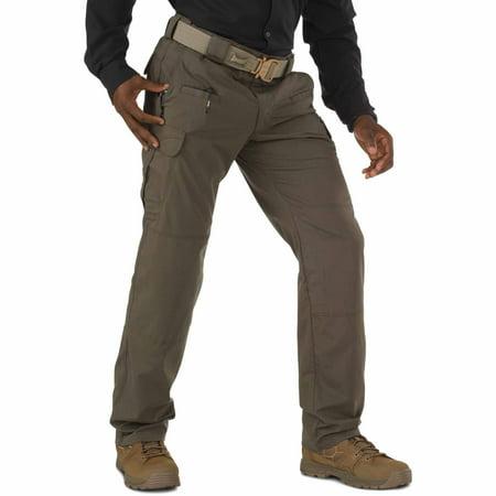 5.11 Tactical Men's Stryke Operator Uniform Pants w/ Flex-Tac Mechanical Stretch, Tundra, 38Wx36L, Style 74369 Police Tactical Uniforms