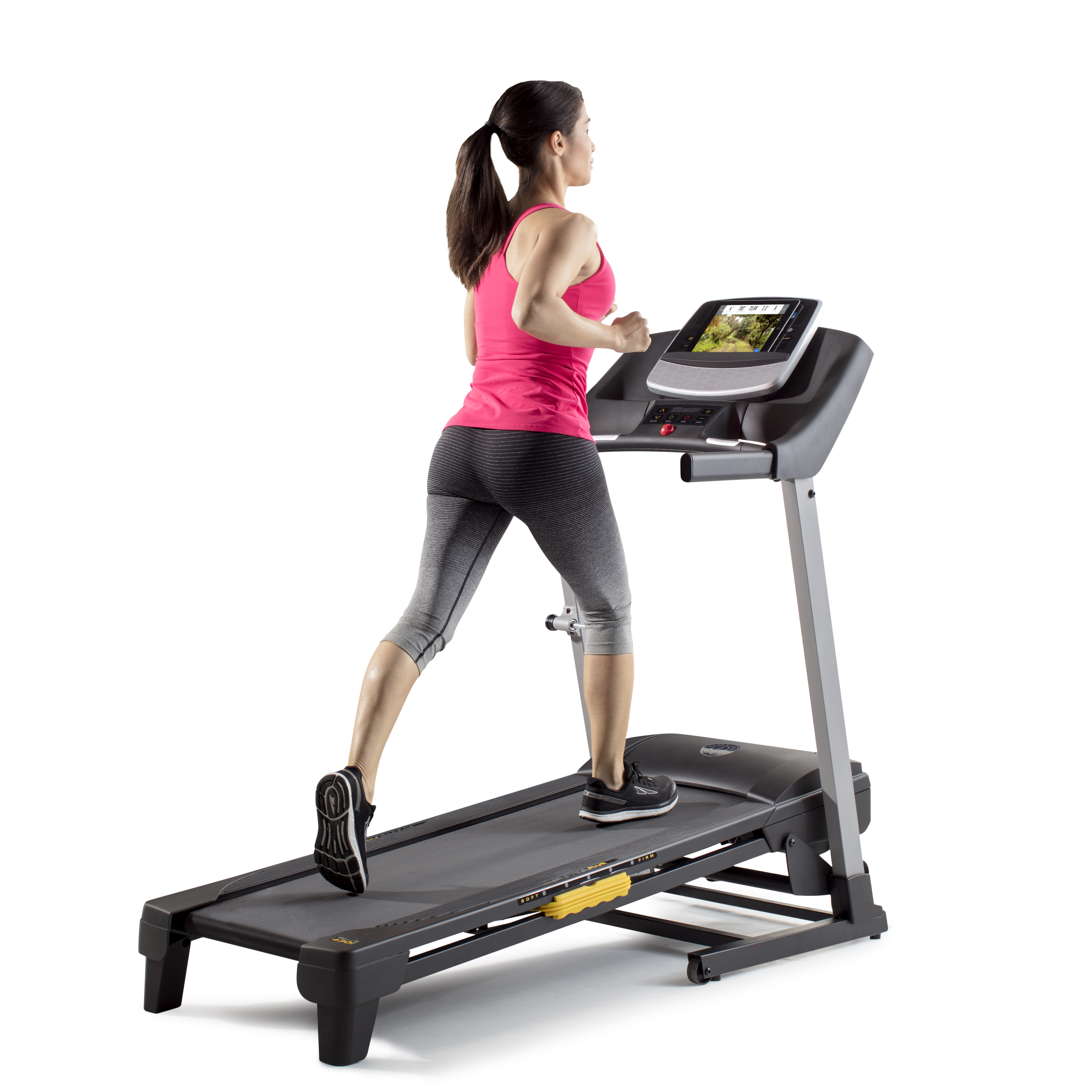Gold's Gym Trainer 430i Treadmill with Easy Assembly with LCD Display