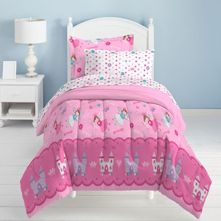 Dream Factory Magical Princess Twin Mini Bed in a Bag - Tween Girls