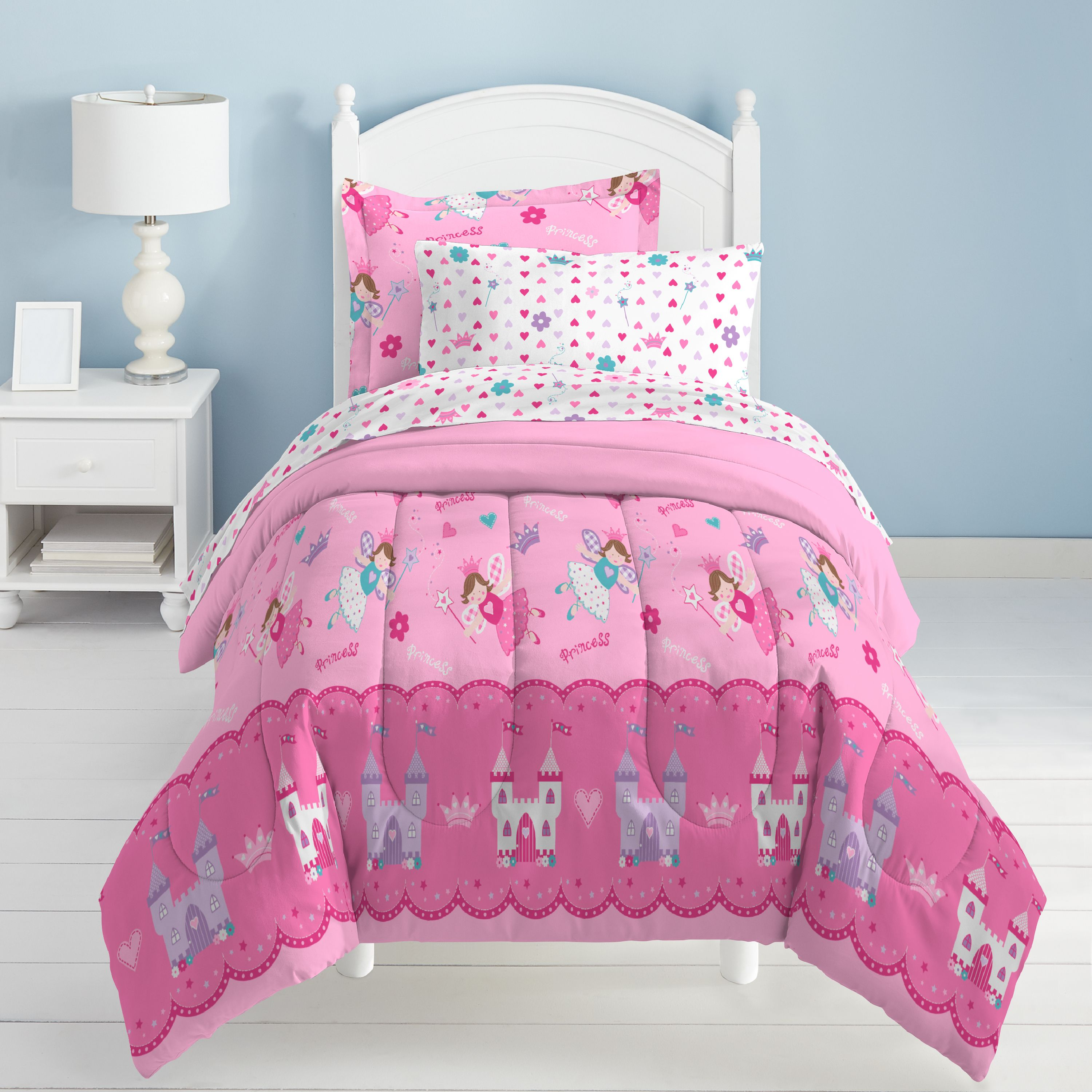 Dream Factory Magical Princess Twin Mini Bed in a Bag