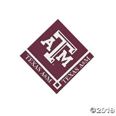 NCAA(TM) Texas A&M Beverage Napkins