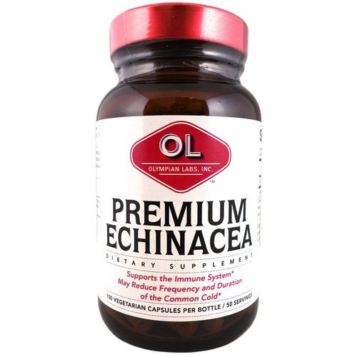 Olympian Labs Premium Echinacea Dietary Supplement, 100 count