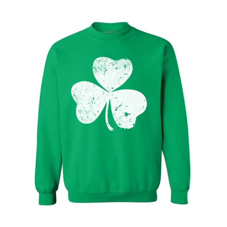 Awkward Styles St. Patrick's Day Sweatshirt Irish Clover Sweater Lucky Sweater for St. Patricks Irish Gifts Irish Shamrock Sweater Lucky Shamrock Sweatshirt Irish Pride St. Patricks Irish Sweater