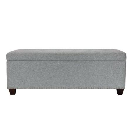 Brilliant Mjl Furniture Designs Sole Secret Duo Corona Nailhead Storage Ottoman Bench Theyellowbook Wood Chair Design Ideas Theyellowbookinfo