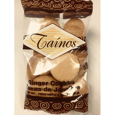 Best Halloween Cookies (TAINOS Ginger Cookies - Puerto Rico's Best DULCES TIPICOS - 4 oz)