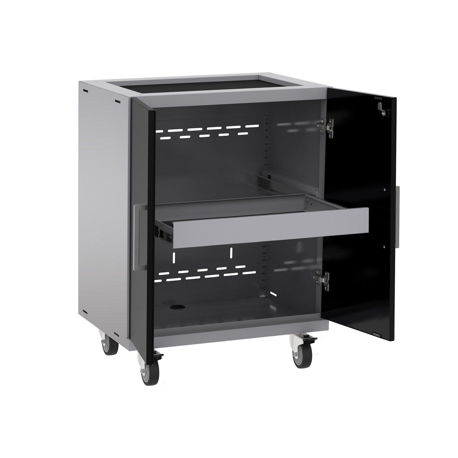 NewAge Products Performance Plus 2.0 Black Base Cabinet