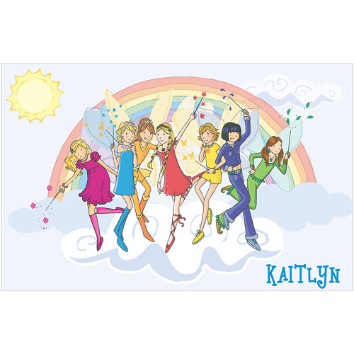 Personalized Rainbow Magic Rainbow Fairies Placemat