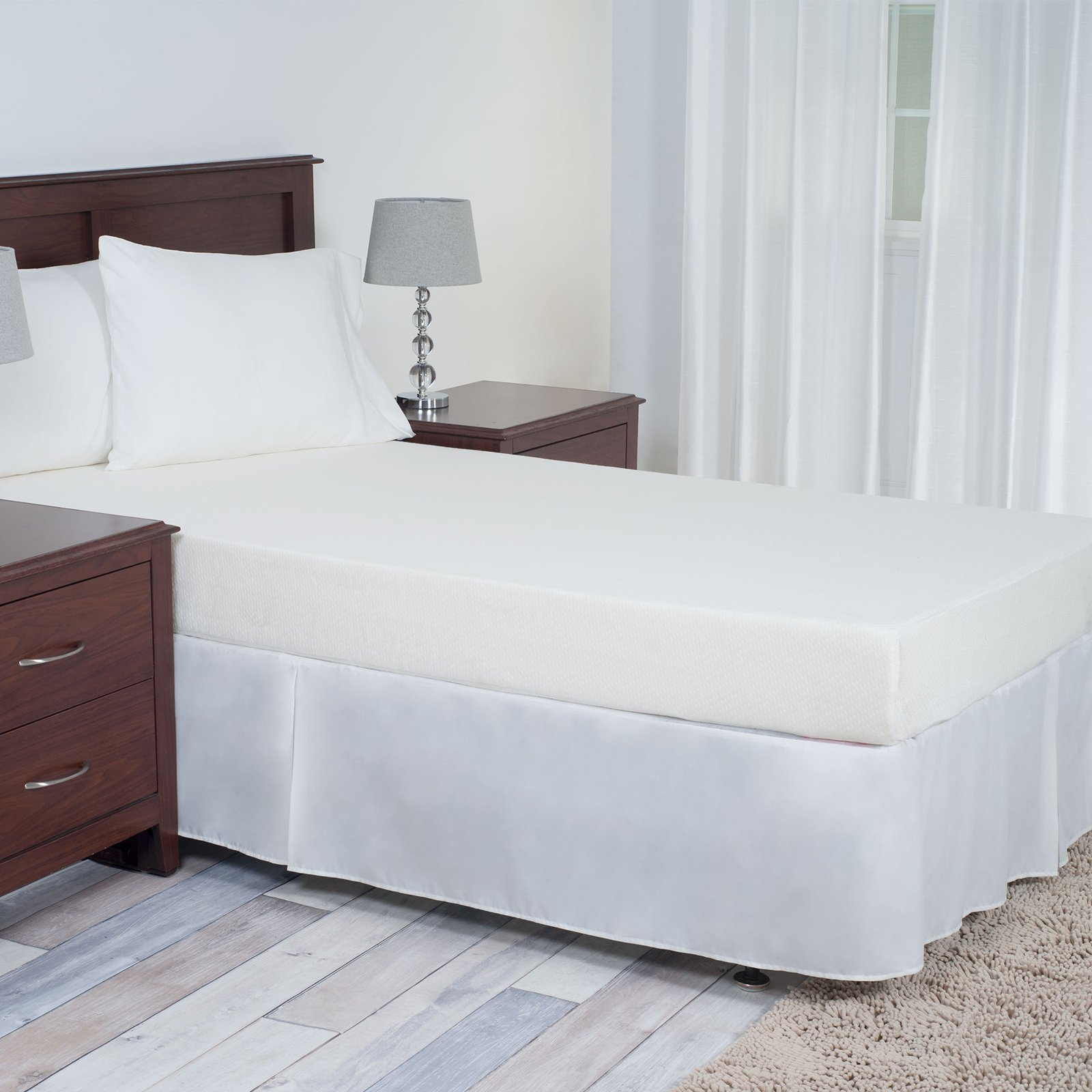 Remedy Comfort Gel Memory Foam Mattress - 7 inches Twin XL