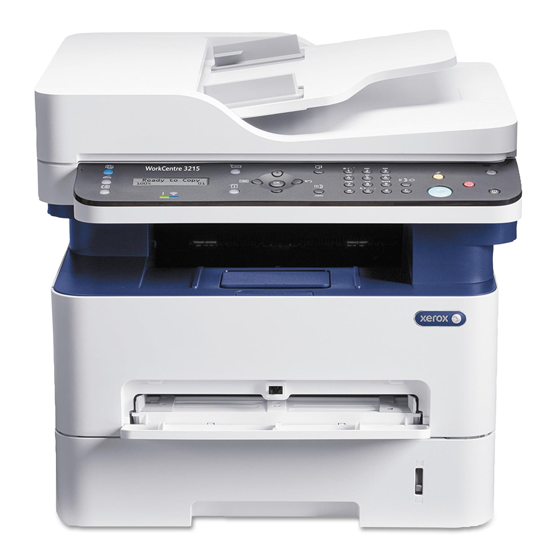 Xerox WorkCentre Laser Multifunction Printer - Monochrome - Plain Paper Print - Desktop - Multi