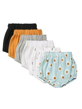 0-5T Newborn Baby Boy Girl Kids Pants Shorts Bottoms PP Bloomer Panties US Stock