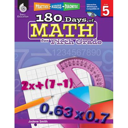 180 Days of Math for Fifth Grade (Grade 5) : Practice, Assess, Diagnose