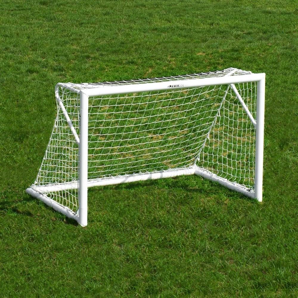 4 ft. x 6 ft. Deluxe Euro Club Soccer Goal Set of 2 by Kwik Goal LTD