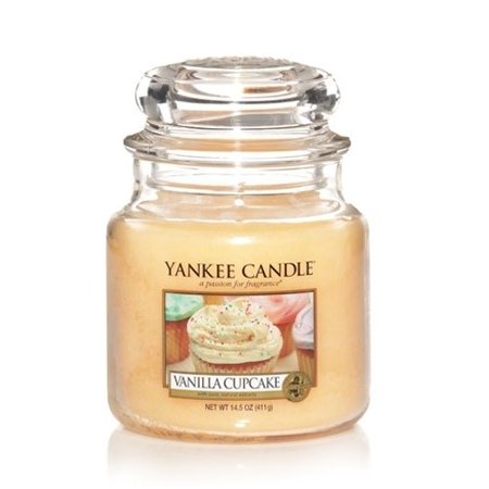 Yankee Candle Vanilla Cupcake  14 5 Oz Medium Jar