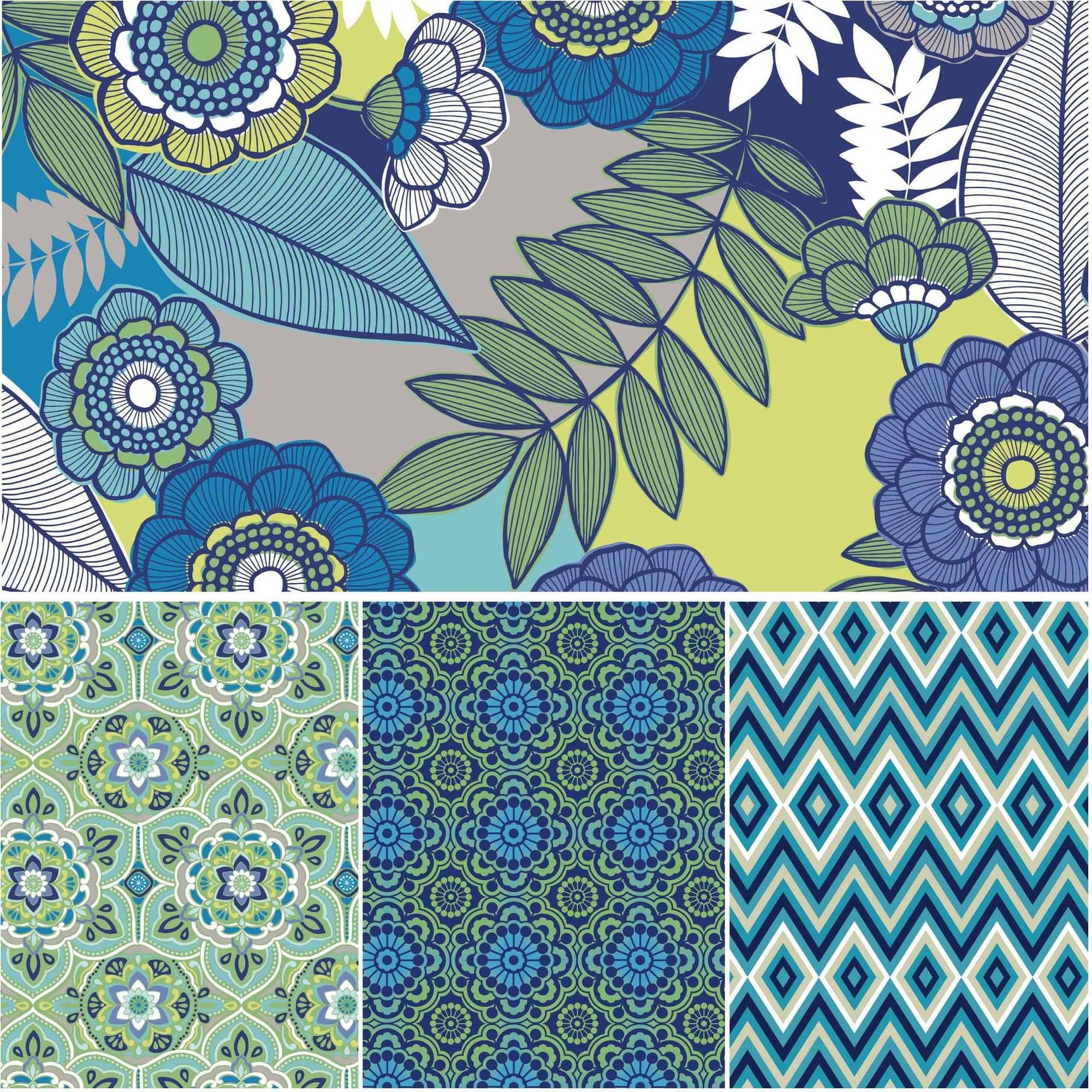 "David Textile Salt Air Collection 44"" Quilt Cotton Fabric By The Yard"