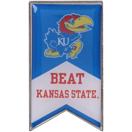 Kansas Jayhawks Beat Kansas State Rivalry Banner Pin