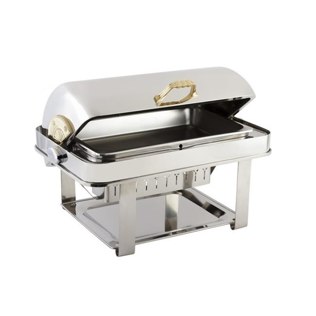 Bon Chef 12004 2 gal Dripless Rectangle Chafer Contemporary