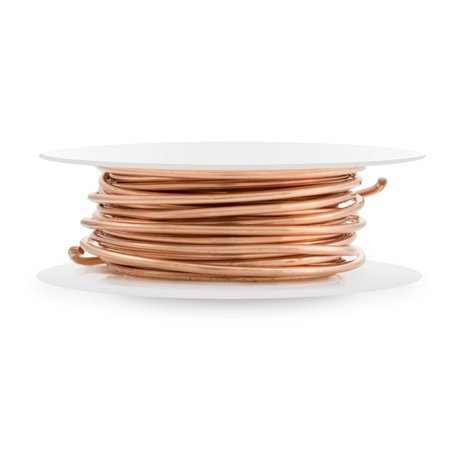 Copper Dead Soft Wire Round 16 Gauge (10 -