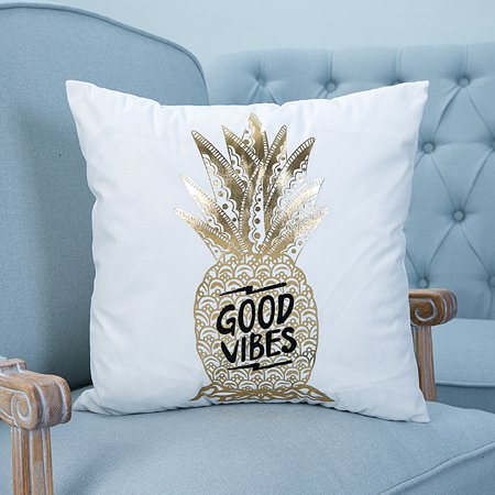 CLEARANCE! Throw Pillows Case, Justdolife Gold Pineapple Cushion Cover Bed Sofa Square Throw Pillow Case Home Office Decor Decorative for Couch Bedding 18'*18' - Golf Decor