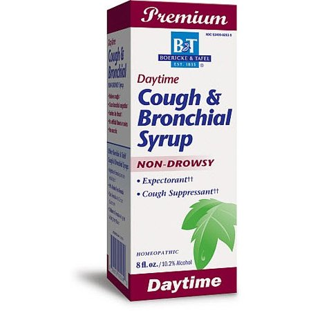 Boericke & Tafel Daytime Cough & Bronchial Syrup 8 fl oz Liquid