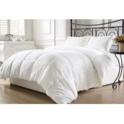 KingLinen® White Down Alternative Comforter Duvet Insert with Conner Tabs - Queen
