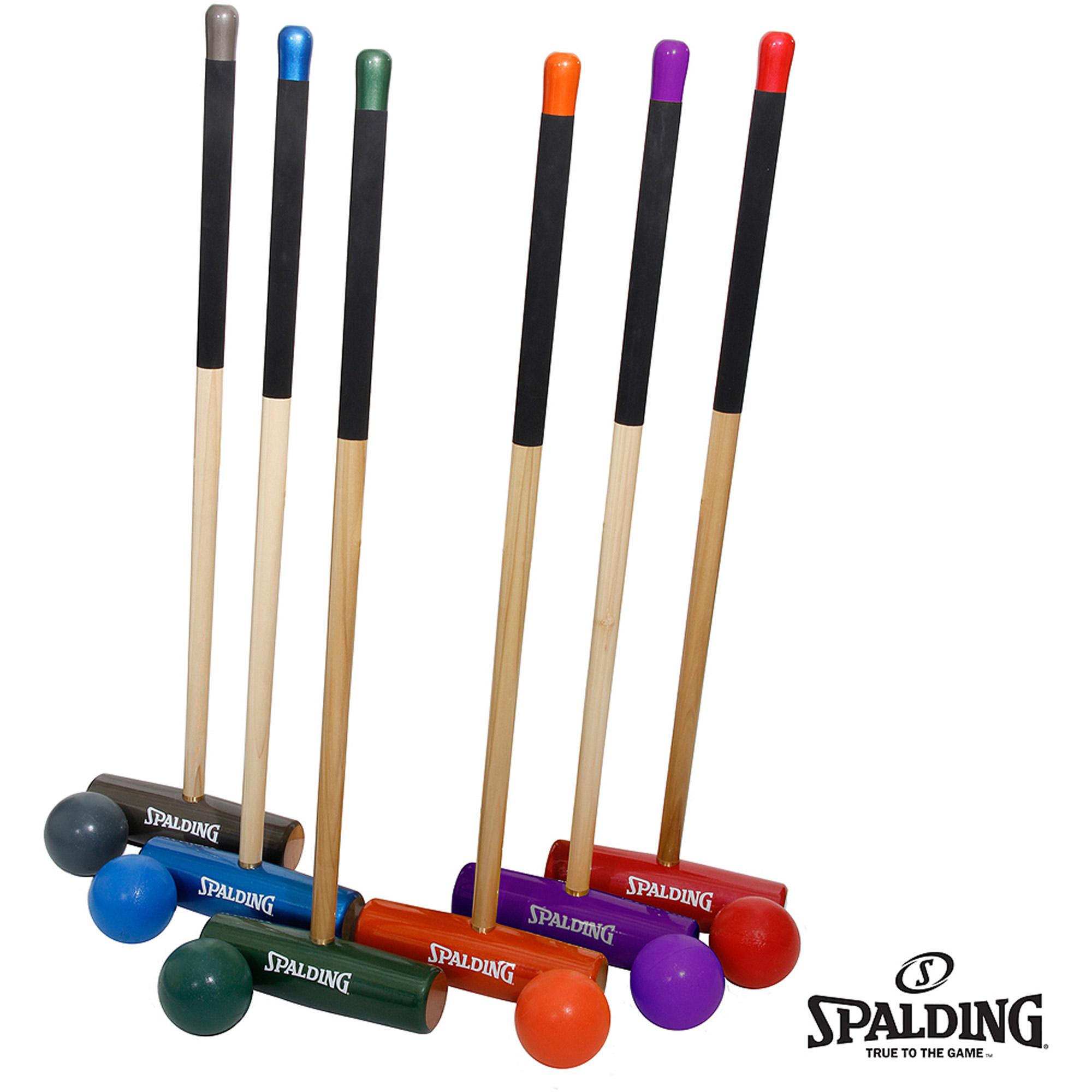 "Spalding Professional Croquet Set, 32"""