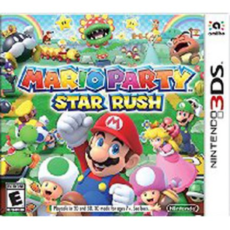 Mario Party Star Rush, Nintendo, Nintendo 3DS, 045496744182