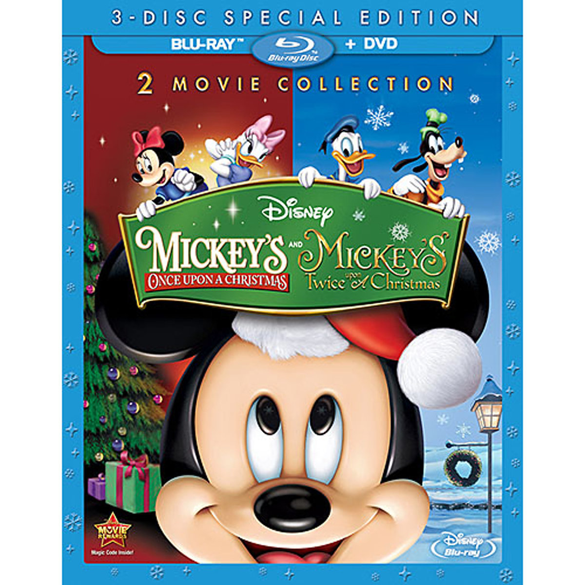 Mickeys Twice Upon A Christmas.Mickey S Once Upon A Christmas And Mickey S Twice Upon A Christmas Special Edition Blu Ray Dvd
