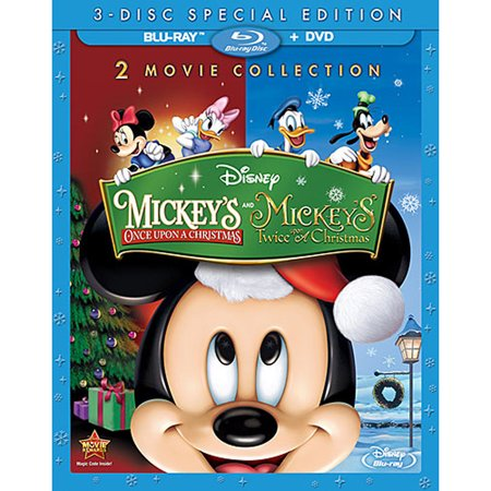 Mickey's Once Upon a Christmas and Mickey's Twice Upon a Christmas (Special Edition) (Blu-ray + DVD) - Mickey's Halloween Party 2017 Hours