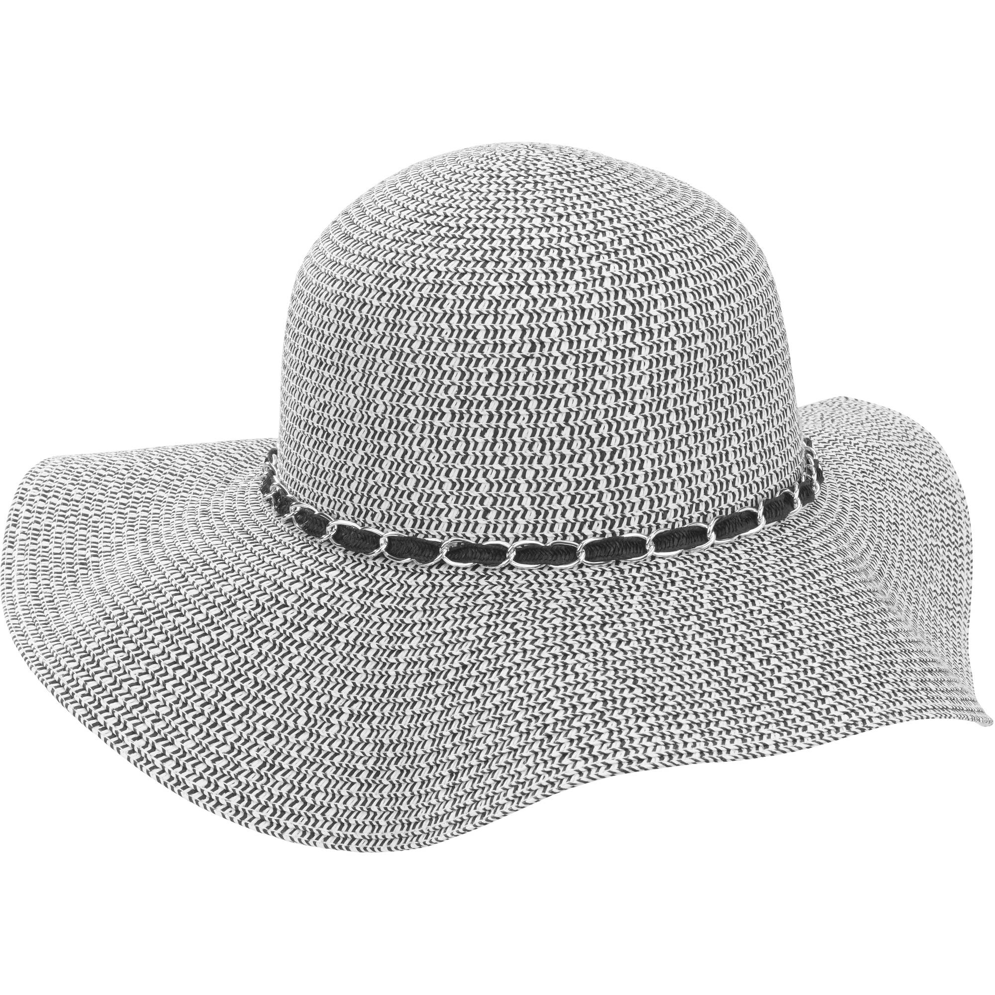 Women's Floppy Hat With Chain Detail