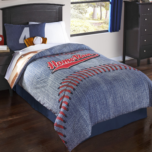 Hallmart Kids Home Run Comforter Set