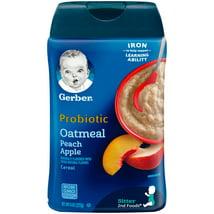 Baby Food: Gerber Probiotic Oatmeal