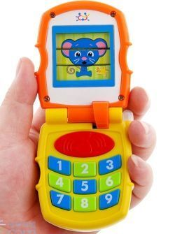 Toy Musical Mobile Cell Phone For Toddlers by TODDLER TOYS