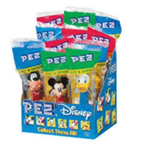 PEZ Disney Mickey Assorted 12 ea (Pack of 3)