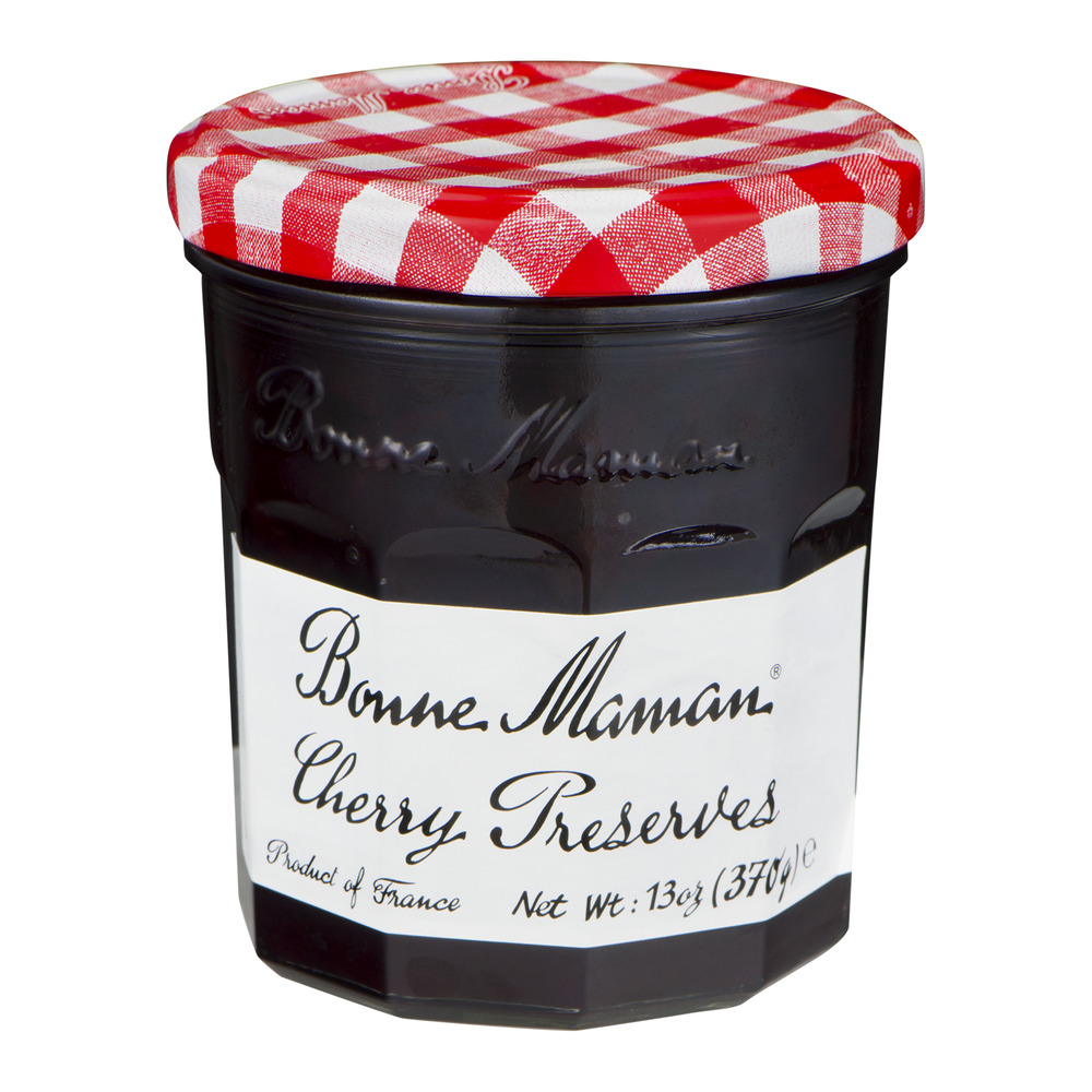 Bonne Maman Cherry Preserves, 13.0 OZ by American Marketing Team