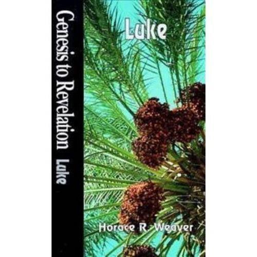 Genesis to Revelation: Luke Student Book