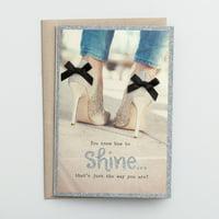 DaySpring  -  Sadie Robertson - Birthday - Shine On - 3 Premium Cards
