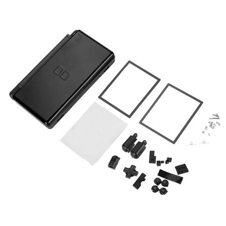 LHCER Housing Shell Case for Nintendo DS Lite, For Nintendo DS Lite Shell,Full Repair Parts For Nintendo DS lite Replacement Kit Housing Shell Case Nds Lite Replacement Shell
