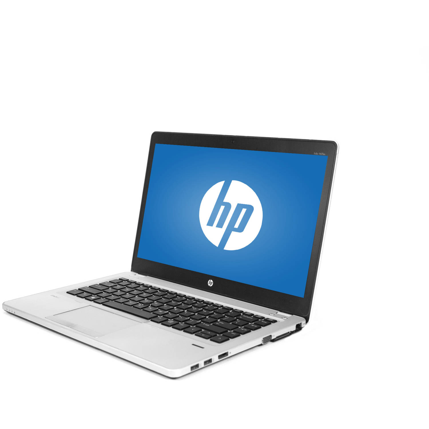 "Refurbished HP Ultrabook Silver 14"" EliteBook Folio 9470M WA5-0887 Laptop PC with Intel Core i5-3427U Processor, 8GB Memory, 320GB Hard Drive and Windows 10 Pro"