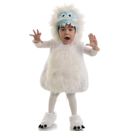 Snow Monster Toddler Costume - Monster Toddler Costume