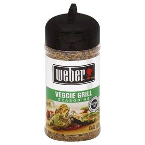 Weber Seasoning Veggie Grill, 4.5 OZ