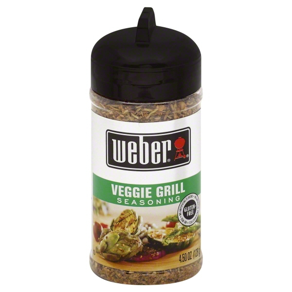 (2 Pack) Weber Seasoning Veggie Grill, 4.5 OZ