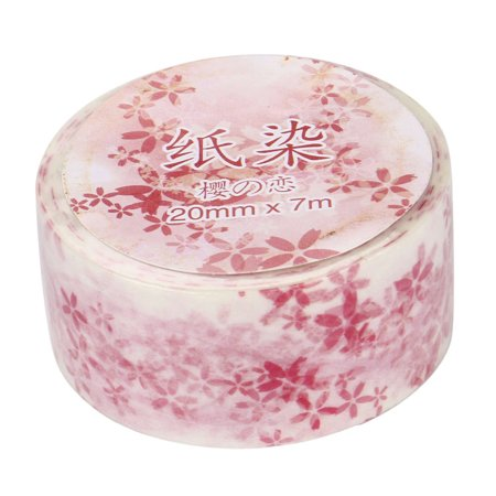 Cherry Blossom Masking Tape Lovely Decorative Adhesive Tape For Decoration Diary (Lovely Cherry)