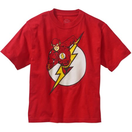 FLASH Boys Character Logo - The Flash Kids